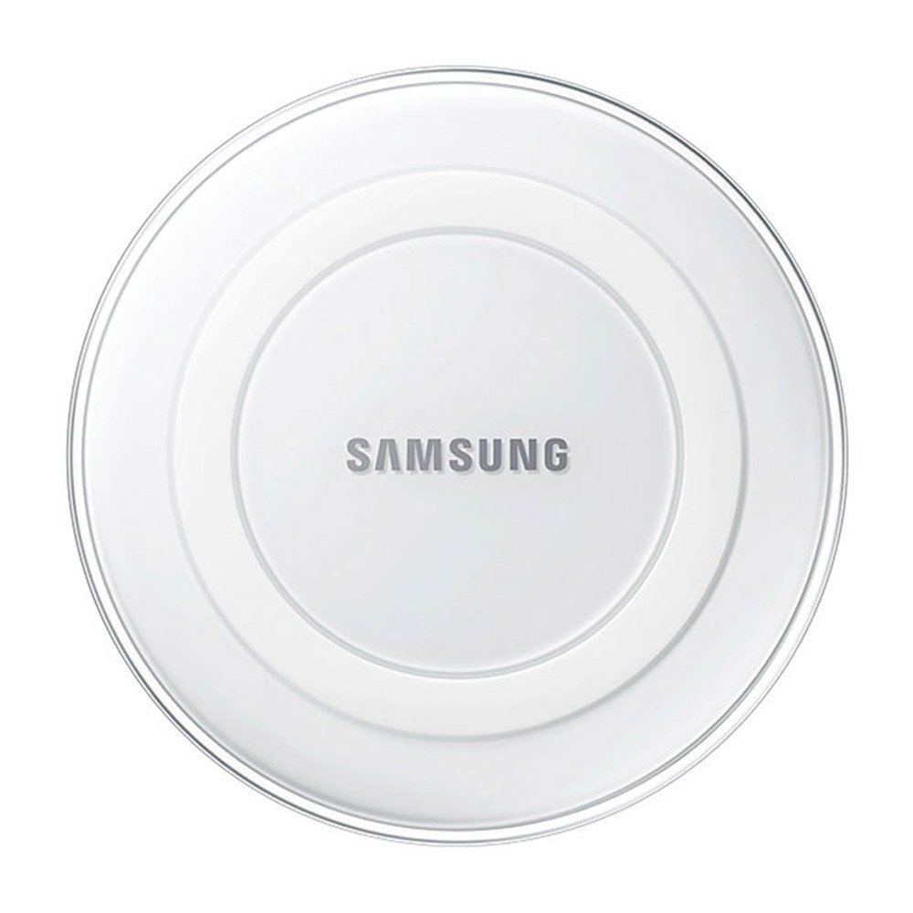 Samsung Qi Certified Wireless Charging Pad with 2A Wall Charger -Supports wireless charging on Qi compatible smartphones including the Samsung Galaxy S8, S8+, Note 8, Apple iPhone 8, iPhone 8 Plus, and iPhone X (US Version) - White Pearl