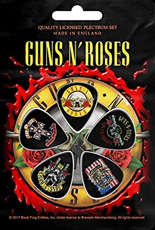 Guns N Roses Púa Set guitarra Pick Set # 2 Logo