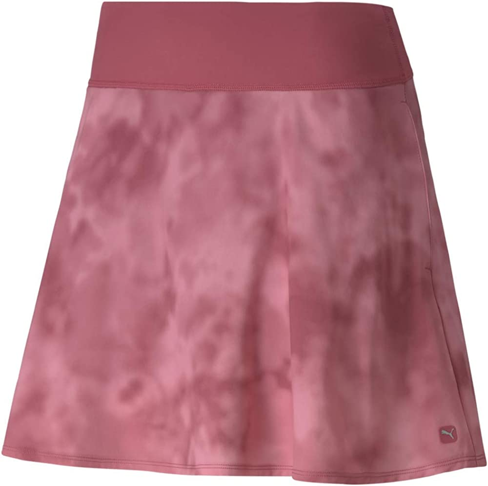 PUMA Women's Golf 2020 Pwrshape Tie Dye Skirt 16""