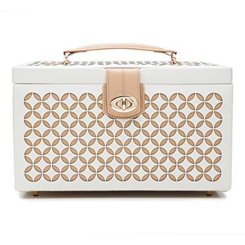WOLF Chloé Medium Jewelry Box, 8.25x11x6.25, Cream by WOLF (Image #3)