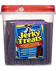 Jerky Treats Beef Flavour No Wheat Formula Dog Snacks 1.58kg
