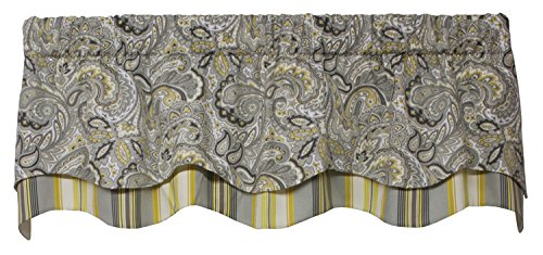 Morelia Lined Layered Classic Valance Curtain 53