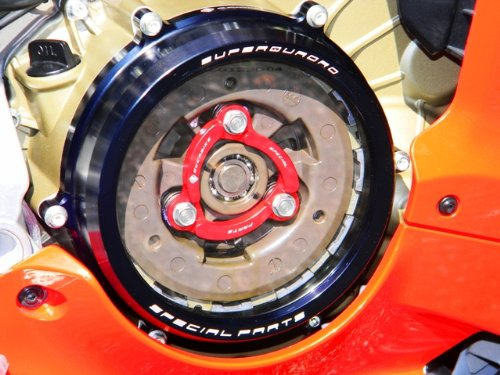 Amazon.com: Ducabike Ducati 1199 Panigale Billet Clutch Cover And Spring Retainer: Automotive