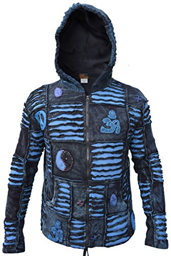 Polaire Little Winter fleece Style Homme Kathmandu À Lined Capuche Veste Pour Gothique En qwrUFw1Xp