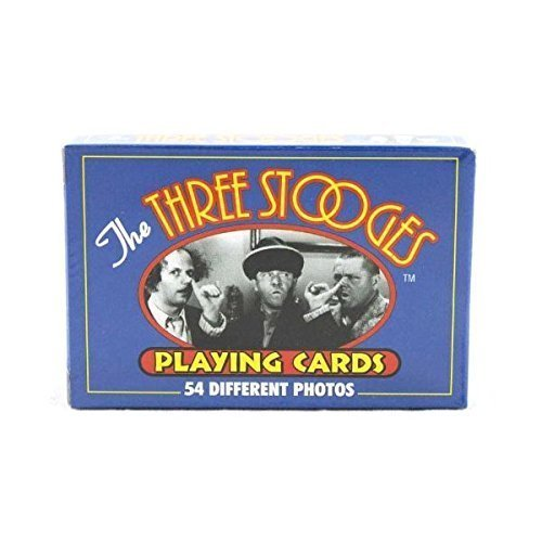 Three Stooges Playing Cards - 54 Photos Set