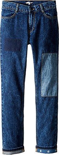Price comparison product image Little Marc Jacobs Boy's Denim Trousers (Big Kids) Denim Blue Jeans