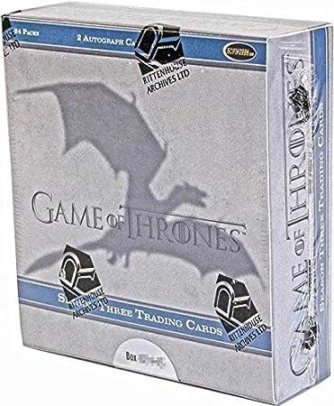 Amazon.com: Juego de Tronos temporada tres cartas ...