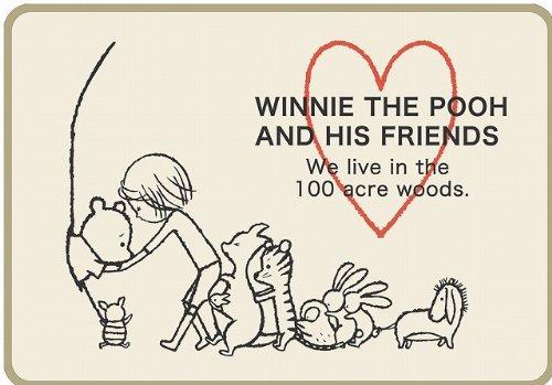 Pooh Winnie The Carpet (Katoushinji Disney Winnie the Pooh rug)