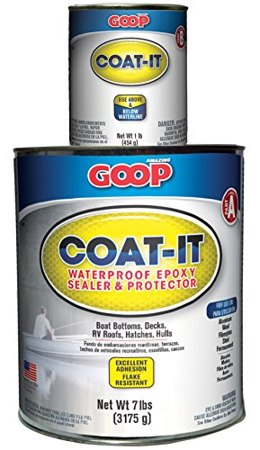 Amazing goop 5400060 coat it epoxy sealer adhesive kit 8 for Waterproof acrylic sealer for crafts
