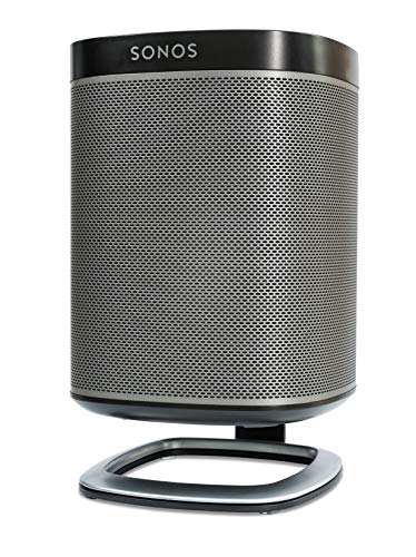 Flexson Desk Stand for SONOS Play:1 Speakers - Black - Single ()