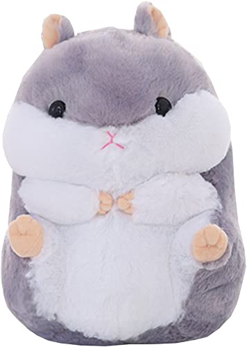 Fat Hamster Pillow Plush Dolls Cute Creative Plush Toys 15.7 Gray