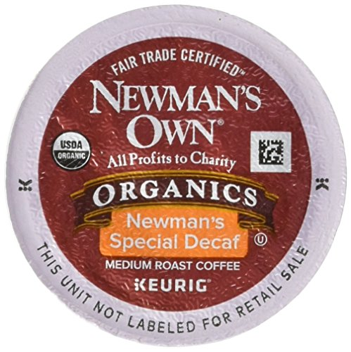 Newman's Own Organics Newman's Special Decaf Keurig Single-S