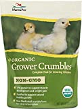 Manna Pro Organic Grower Crumbles, 10 lb