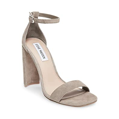 811a7df2960 Steve Madden Women s Franky Taupe Suede Dress Open ...