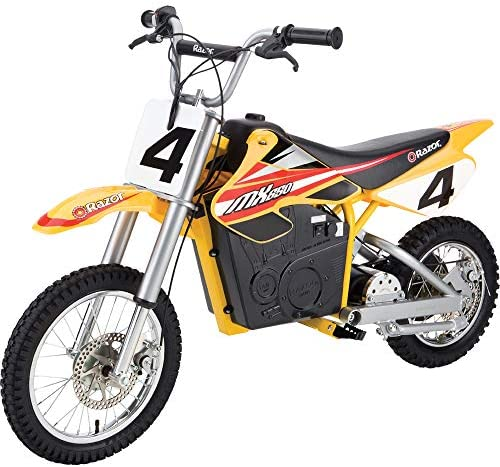 Amazon.com: Razor MX650 Dirt Rocket Electric-Powered Dirt Bike with  Authentic Motocross Dirt Bike Geometry, Rear-Wheel Drive, High-Torque,  Chain-Driven Motor, for Kids 13+: Sports & Outdoors | Mx 650 Wiring Diagram |  | Amazon.com