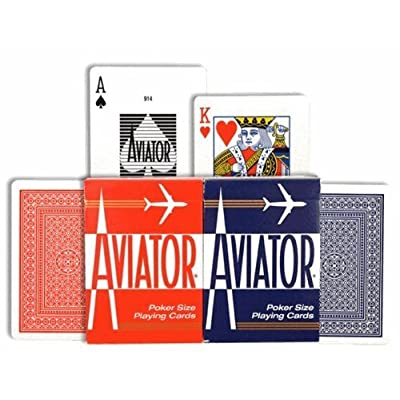 Aviator Playing Cards, Case of 12: Toys & Games