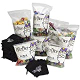 Wiz Dice Retail Starter Kit with 1,050 Dice and 40 Velvet Pouches by Wiz Dice