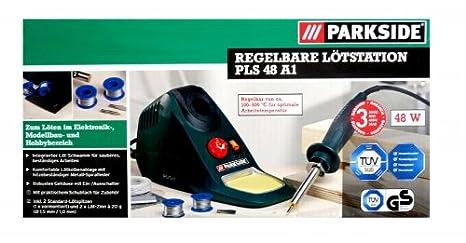 Parkside sendas tapas de estación de soldadura 48 Watt soldador 100-500 °C Temperatura de trabajo: Amazon.es: Industria, empresas y ciencia