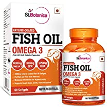 StBotanica Fish Oil Omega 3 Advanced 1000mg Double Strength