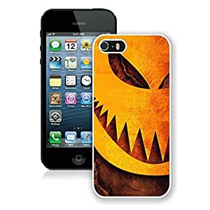 Custom-ized Iphone 5S Protective Cover Case Halloween iPhone 5 5S TPU Case 11 White