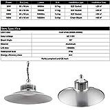 100W LED High Bay Lighting 10000LM IP54 Waterproof
