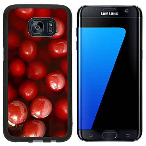 Liili Samsung Galaxy S7 Edge Aluminum Backplate Bumper Snap Case Cherry compote for backgrounds or textures Photo 23031470 (Edge Compote)