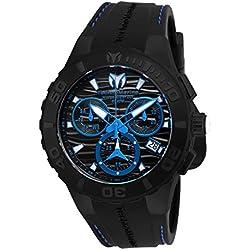 TechnoMarine Cruise Medusa Chronograph Black Dial Mens Watch 115080