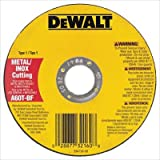 "DeWalt DW8065 Metal & Stainless Cutting Wheel, 8700 RPM, .045"" Thick, 7"" Diameter, 25 Pack - Lot of 25"