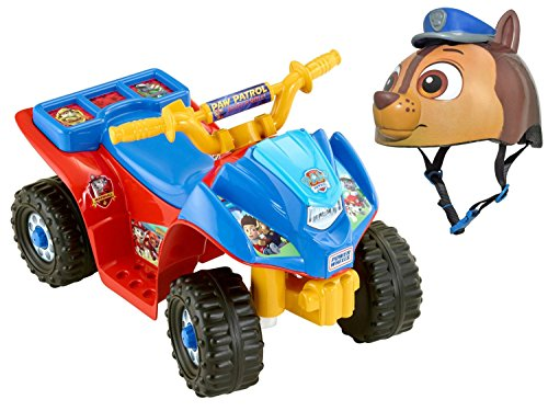 [Fisher-Price Power Wheels Nickelodeon Paw Patrol Lil' Quad Ride-On Car with Bell Sports Paw Patrol Toddler] (Bull Rider Costume Toddler)