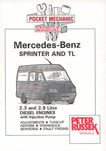 mercedes benz sprinter diesel models to 2000 2 3 and 2 9 litre rh amazon co uk