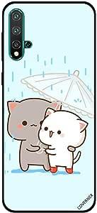 For Huawei Nova 5 Case Love in Rain