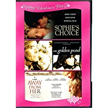 Happy Valentine's Day Romance 3-Pack: Sophie's Choice / On Golden Pond / Away From Her