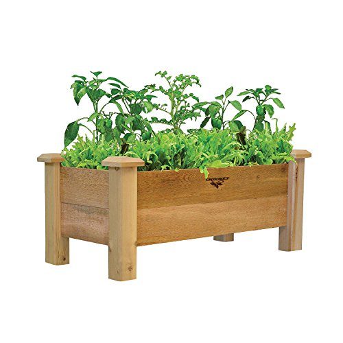 Gronomics Rustic Planter Box, 18 by 34 by 19'