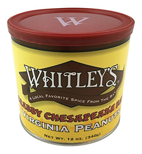 Whitley's Crabby Chesapeake Bay Virginia Peanuts by Whitley's