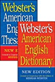 Webster's American English Dictionary/Thesaurus Shrink-Wrapped Set, Merriam-Webster, 1596951168