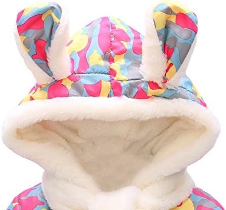 Little Hand Baby M/äntel M/ädchen Kapuze Jacke Kinder Winter Kleidung Warm 80 86 92 98