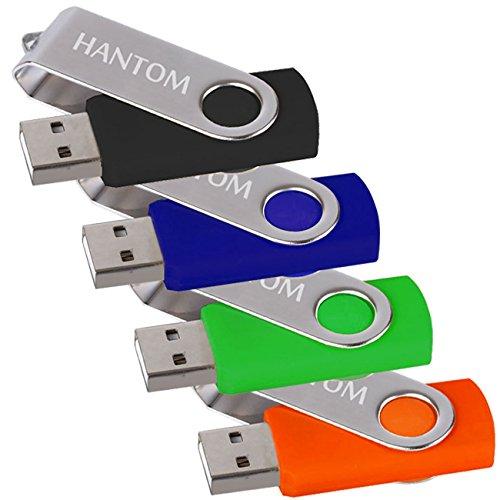 HANTOM 4pack 16GB U-Disk USB Flash Drives Thumb Drive USB 2.