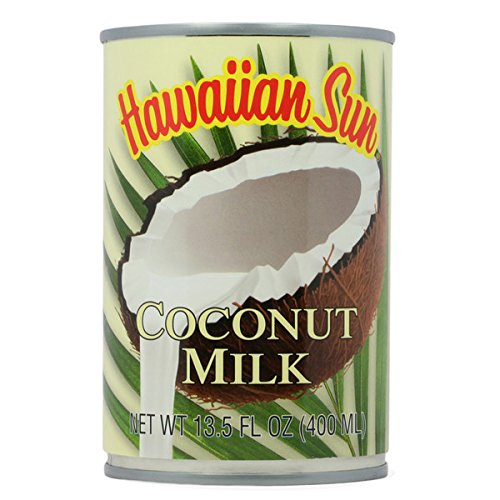 Hawaiian Sun Coconut Milk - 6 pack of 13.5 oz cans