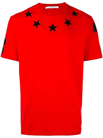 17f7200651600 T Givenchy Rouge Shirt Homme Coton Ybf6y7g