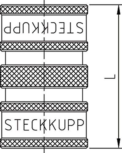 ABA Beul 65003.106.2 Wasser-Doppelsteckkupplung System 3//4 Messing