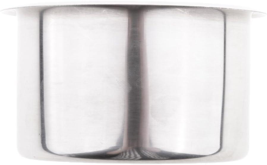 Silber F Fityle 3 St/ücke Edelstahl Getr/änkehalter Becherhalter Dosenhalter F/ür Marine Boot RV Camper 90x55mm