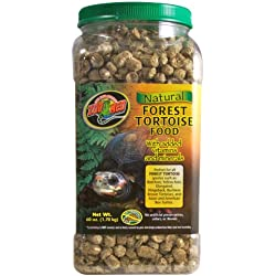 Zoo Med Natural Tortoise Food, 60-Ounce, Forest