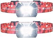 LED Headlamp, LETOUR Outdoor Headlights Gesture Sensing Headlamp IP45 Waterproof Adjustable Headband Headlight