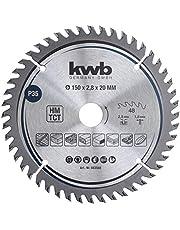 kwb 583568 Precision Carpenter's Circular Saw Blade 150 x 20 mm Fine Cutting High Number 48 Teeth Z-48