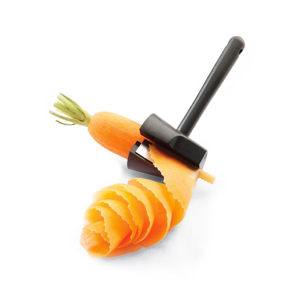 HomDSim Funnel Stainless Steel Spiral Slicer Vegetable Spiralizer Bundle
