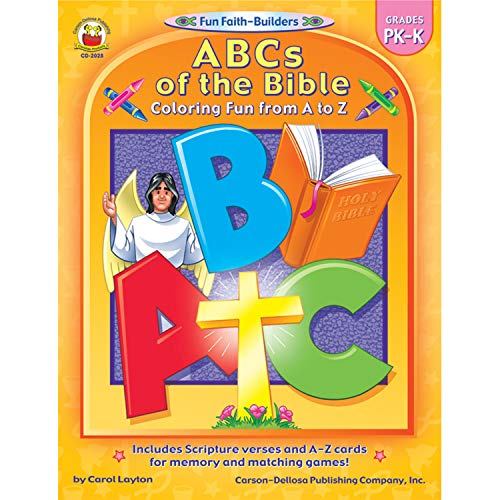 Carson Dellosa Publications CD-2028 Abcs of The Bible, 1.2