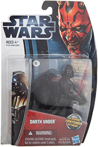 Star Wars Darth Vader Slashing Lightsaber Attach Movie Heroes