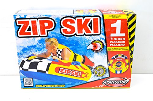 SportsStuff 5405392 Sport Zip Ski 48' Tube QTY 1 (Tube Sportsstuff Sports)