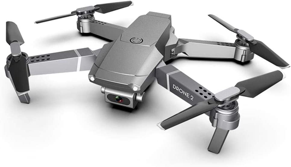 QiBest Velivoli con Telecomando per Drone Pieghevole ad Altezza Fissa Quadcopter Droni