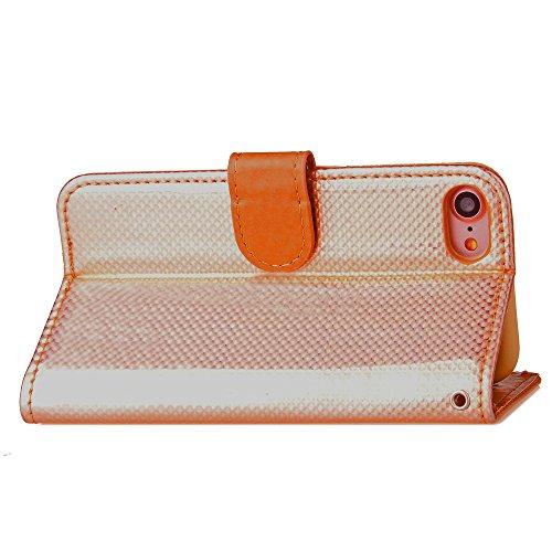 Funda Libro para iPhone 7,Manyip Suave PU Leather Cuero Con Flip Cover, Cierre Magnético, Función de Soporte,Billetera Case con Tapa para Tarjetas, Funda iPhone 7 C